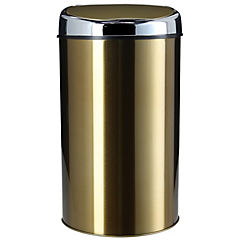 Papelero con sensor 6 litros cobre