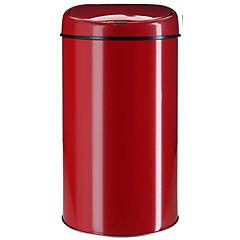 Papelero con sensor 6 litros rojo