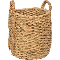 Canasto decorativo 35x30 cm natural