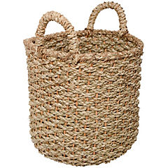 Canasto decorativo 30x30 cm natural
