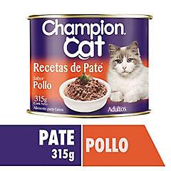 Alimento húmedo para gato adulto 315 gr pollo