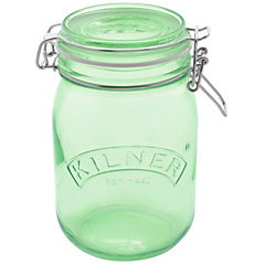 Frasco 1 litro vidrio verde