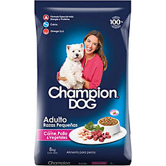 Alimento seco para perro adulto 8 kg carne, pollo y vegetales