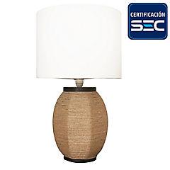 Lámpara de velador 55 cm 60 W