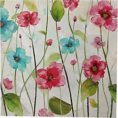 Canvas decorativo Flores 60x60 cm