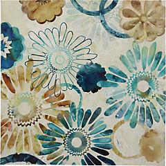 Canvas decorativo Flores 90x90 cm