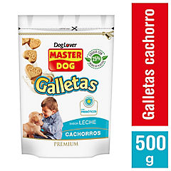 Snack galleta para cachorro 500 gr leche