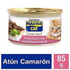 Alimento húmedo para gato adulto 85 g camarón