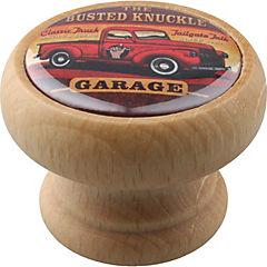 Pomo 40 mm madera natural garaje pickup
