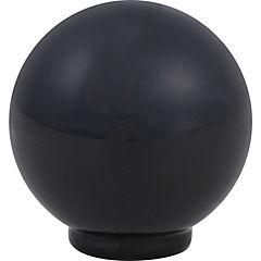 Perilla abs 29 mm negro brillo