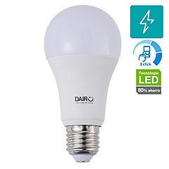 Ampolleta LED A60 3 dim 11,5W E27 luz cálida