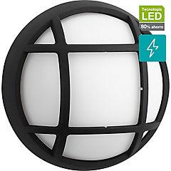 Apliqué de muro LED exterior 3,5 W Negro