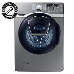 Lavadora secadora carga frontal 18/10 kg inox
