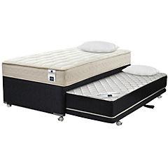 Diván base normal 1,5 plazas sin textil + almohadas