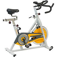 Bicicleta estática mecánica amarillo