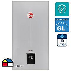 Calefont tiro natural 10 litros gas licuado