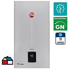 Calefón tiro natural 11 litros gas natural