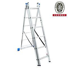 Escalera 3,4 m articulada mixta aluminio