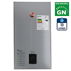 Calefont tiro natural 13 litros gas natural