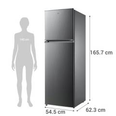 MIDEA - Refrigerador no frost 252 litros gris