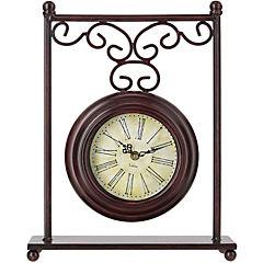 Reloj de mesa 30x39 cm negro