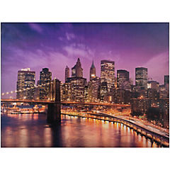 Canvas decorativo New York 80x60 cm