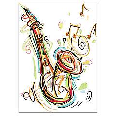 Canvas Saxofón 30x40 cm