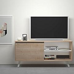 Rack de TV 63x138x40 cm Maple