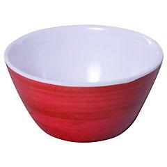 Bowl melamina 10x5 cm rojo