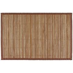 Individual bambú natural 30x45 cm