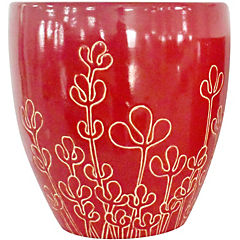 Macetero de cerámica 28x30 cm Fresa