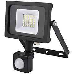 Reflector LED plano 10 W con sensor