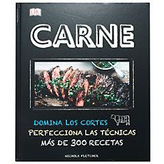Libro de receta para carnes 320 páginas