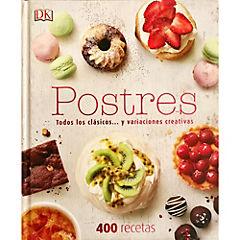 Libro de receta para postres 304 páginas