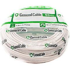 Cable libre de halógenos (H07Z1K) 1,5mm2 50 m Blanco