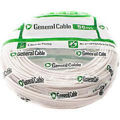Cable libre de halógenos (H07Z1K) 2,5 mm 50 m Blanco