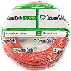 Cable libre de halógenos (H07Z1K) 2,5 mm 50 m Rojo