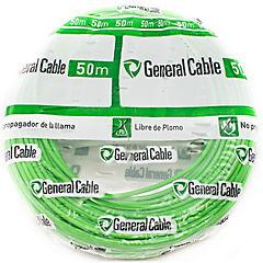 Cable libre de halógenos (H07Z1K) 2,5mm2 50 m Verde