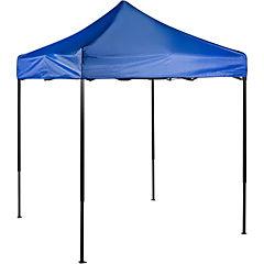 Toldo plegable 2x2 m azul