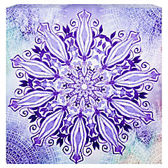 Canvas decorativo Mandala 20x20 cm