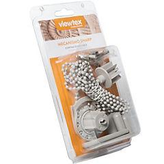 Soporte para cortina roller 4,5 mm gris