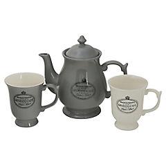 Juego de té 3 piezas