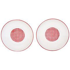 Set de platos 20 cm 2 unidades