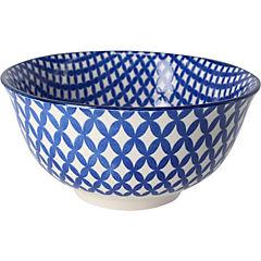 Bowl de cerámica azul 12x5,5 cm
