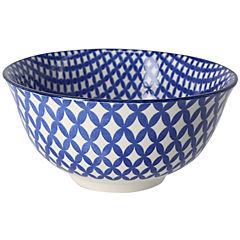 Bowl de cerámica azul 15,5x8 cm