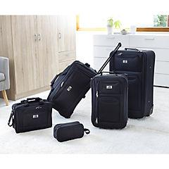 Set de maletas 5 piezas negras