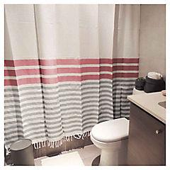 Cortina de baño Marinera textil 180x180 cm