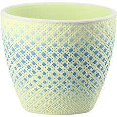 Macetero de cerámica 12x10 cm