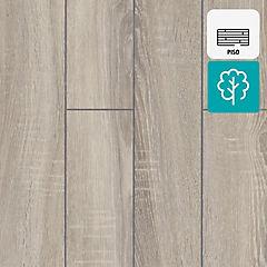 Piso flotante 8 mm Sonoma Oak biselado metalizado 1,244 m2