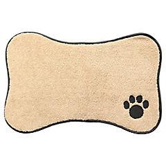 Alfombra para mascotas 31x46 cm beige